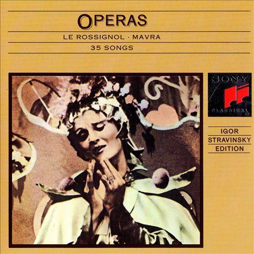 Stravinsky: Operas