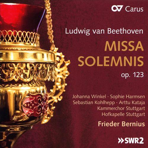 Beethoven: Missa Solemnis Op. 123