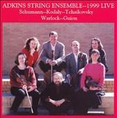 Adkins String Ensemble plays Schumann, Kodály, Tchaikovsky, etc.