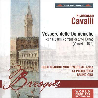 Francesco Cavalli: Vespero delle domeniche
