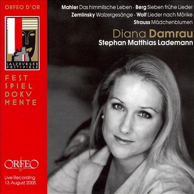 Diana Damrau sings Mahler, Berg, Zemlinsky, Wolf, Strauss