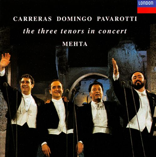 The Three Tenors in Concert