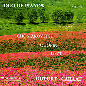 Shostakovich/Chopin/Liszt: Piano Duet