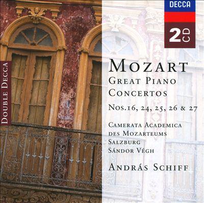 Mozart: Great Piano Concertos Nos. 16, 24, 25, 26 & 27