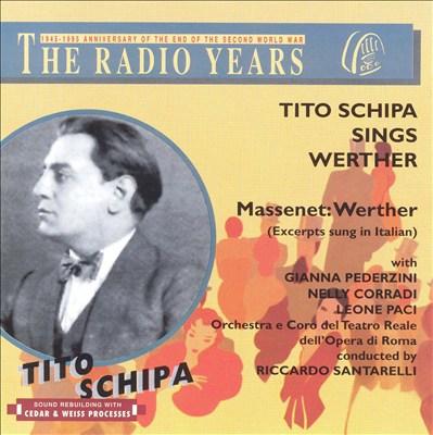 Tito Schipa sings Werther