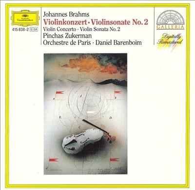 Brahms: Violin Concerto; Violin Sonata No. 2