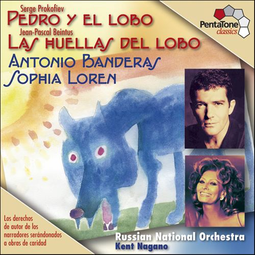 Serge Prokofiev: Pedro y el Lobo; Jean-Pascal Beintus: Las Huellas del Lobo