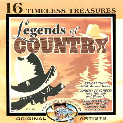 16 Timeless Treasures: Legends of Country
