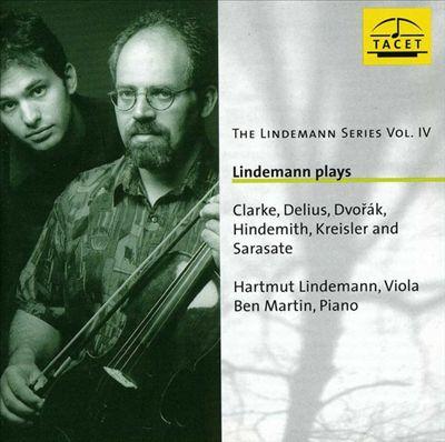 Lindemann plays Clarke, Hindemith & Kreisler