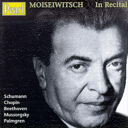 Moiseiwitsch in Recital