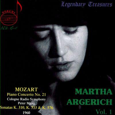Martha Argerich, Vol. 1: Mozart - Piano Concerto No. 21; Sonatas
