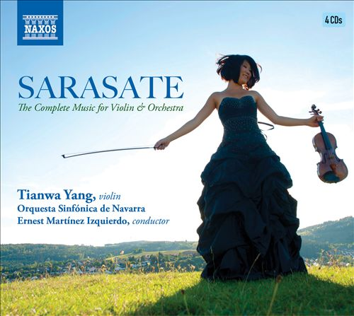 Sarasate: The Complete Music for Violin & Orchestra