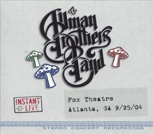 Instant Live: Fox Theatre - Atlanta, GA, 9/25/04