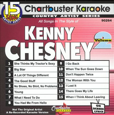 Chartbuster Karaoke: Kenny Chesney, Vol. 2