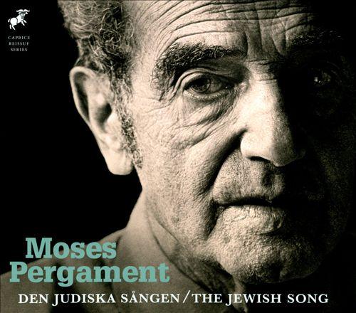 Moses Pergament: Den Judiska Sången (The Jewish Song)
