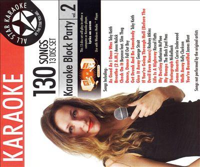 Karaoke Block Party Country, Vol. 1