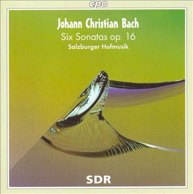 Johann Christian Bach: Six Sonatas, Op. 16