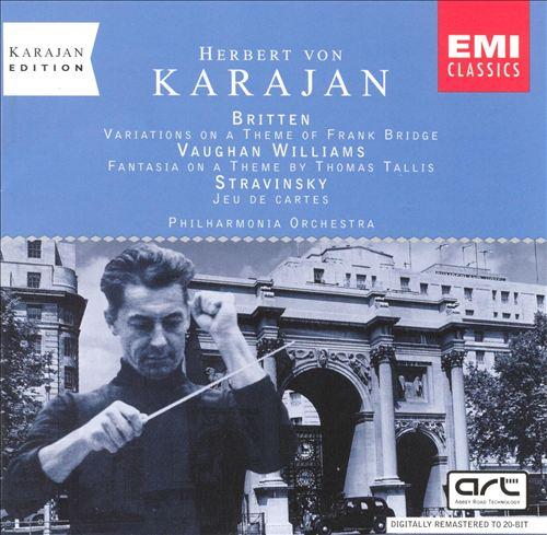 Karajan Edition - Britten/Vaughan William/Stravinsky