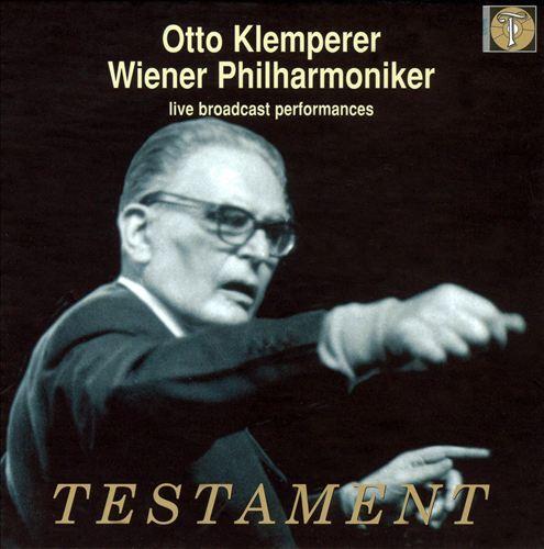 Otto Klemperer, Wiener Philharmoniker: Live Broadcast Performances [Box Set]