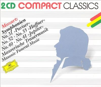 Mozart: Symphonien Nr. 31, 32, 35, 40, 41