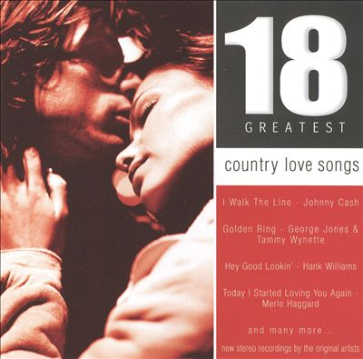 18 Country Love Songs