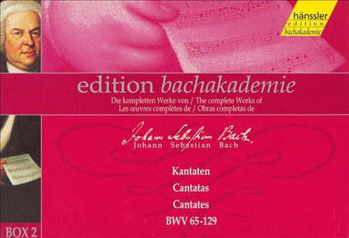 Bach: Cantatas, Box 2, BWV 65-129