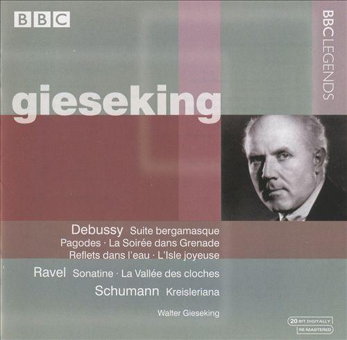 Debussy: Suite bergamasque; Pagodes; La Soirée dans Grenade; Reflets dans l'eau; L'Isle joyeuse; Ravel: Sonatine; etc