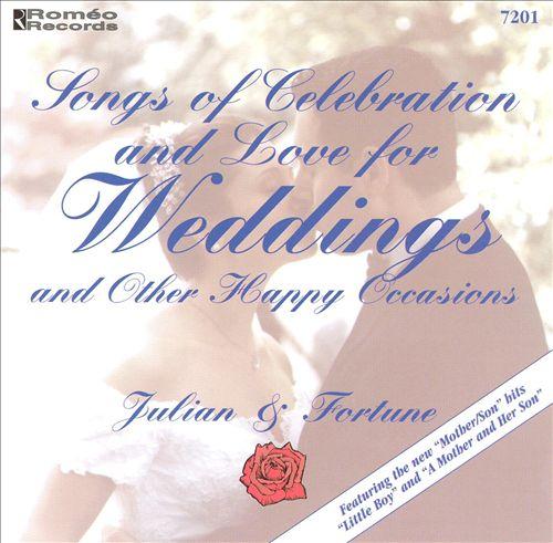 Songs of Celebration & Love for Weddings