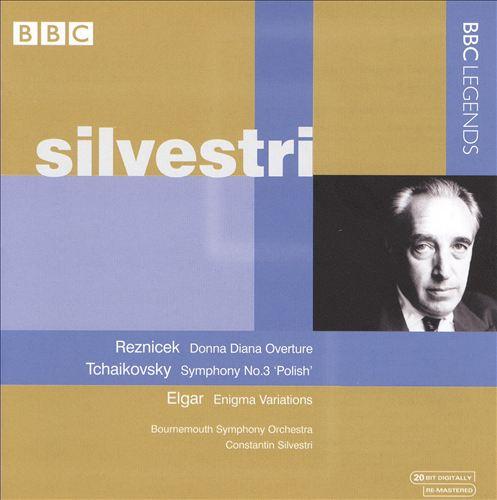 Reznicek: Donna Diana Overture; Tchaikovsky: Symphony No. 3; Elgar: Enigma Variations
