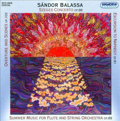 Sándor Balassa: Works for String Orchestra
