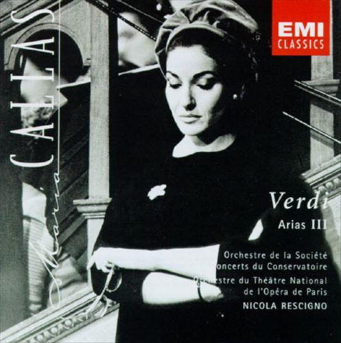 Arias from Aida, Attila, Un Ballo in Maschera, I Lombardi, I Vespri Sicilani, Il Corsaro, Il Trovatore
