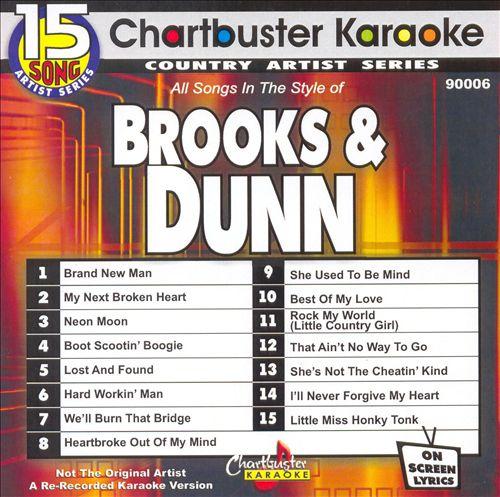 Chartbuster Karaoke: Brooks & Dunn, Vol. 1