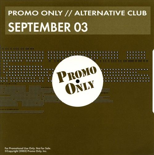 Promo Only: Alternative Club (September 2003)