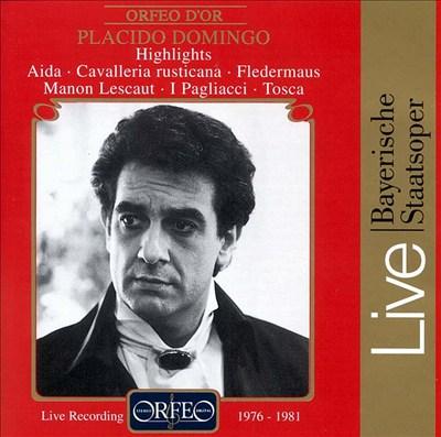 Highlights from Aida, Cavalleria rusticana, Fledermaus, Manon Lescaut, I Pagliacci, Tosca