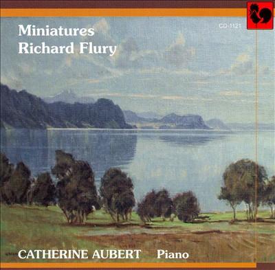 Richard Flury: Miniatures