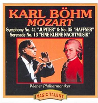 Mozart:Symphonies 41 & 35/ Eine Kleine Nachmusik