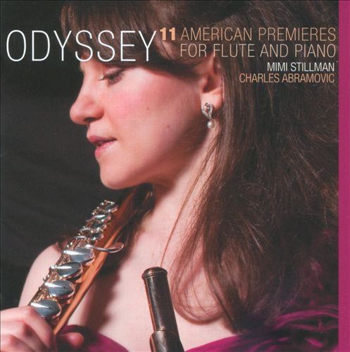 Odyssey: 11 American Premieres for Flute & Piano