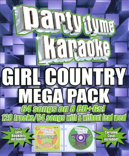 Party Tyme Karaoke: Girl Country Mega Pack