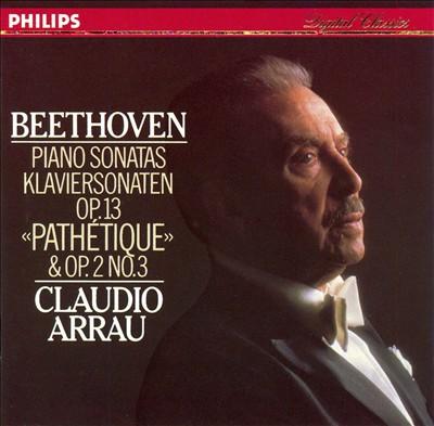 """Beethoven: Piano Sonatas Op. 13 """"Pathétique"""" & Op. 2 No. 3"""