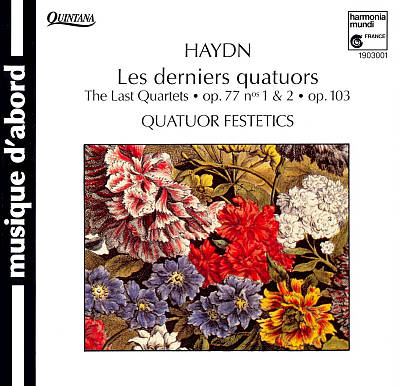 Haydn: The Last Quartets, Op. 77 Nos. 1 & 2, Op. 103