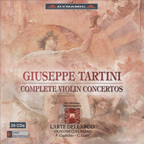 Giuseppi Tartini: Complete Violin Concertos