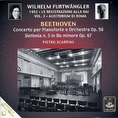 Beethoven: Concerto per Pianoforte e Orchestra Op. 58; Sinfonia n. 5 in Do minore Op. 67