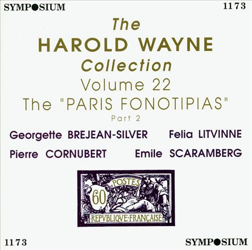 The Harold Wayne Collection, Vol. 22