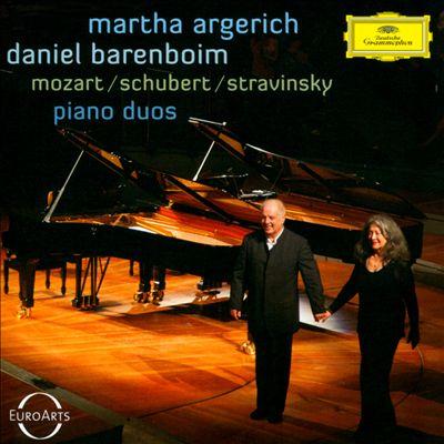 Mozart, Schubert, Stravinsky: Piano Duos