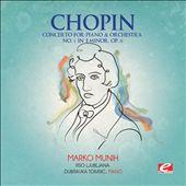 Chopin: Concerto for Piano & Orchestra No. 1 in E minor, Op. 11