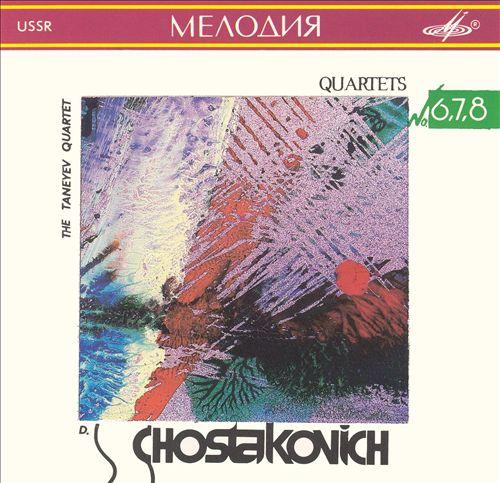 Shostakovich: Kvartety No. 6, 7, 8
