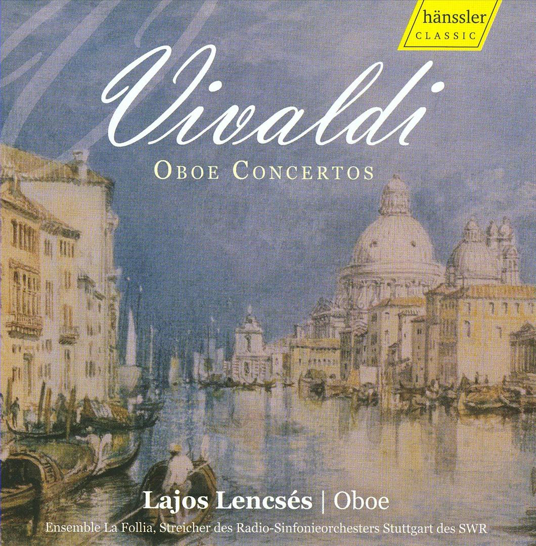 Vivialdi: Oboe Concertos