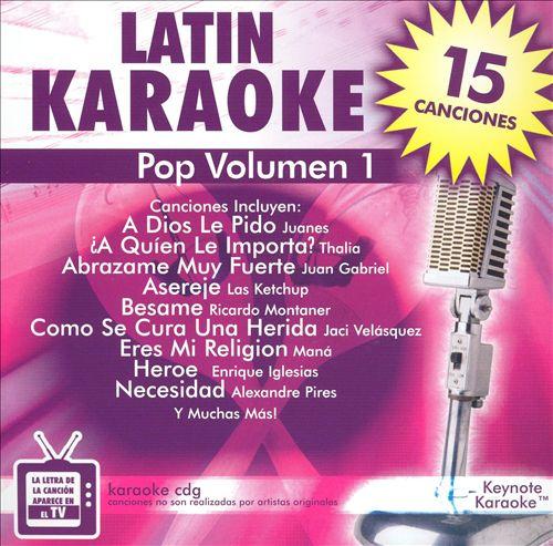 Keynote Karaoke: Latin, Vol. 1 - Pop