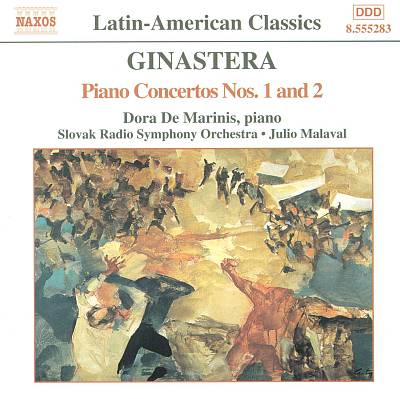 Ginastera: Piano Concertos Nos. 1 and 2