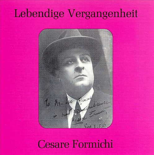 Lebendige Vergangenheit: Cesare Formichi